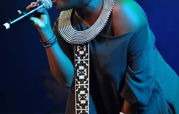 Amanda Black and other artists who came to Nairobi may have been paid for coming here