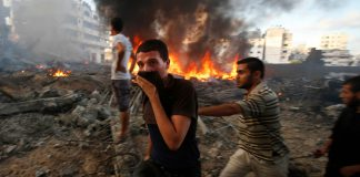 Nearly 2 200 Palestinians and 73 Israelis were killed during last year's war in Gaza.