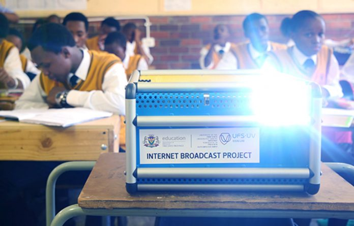 The University of the Free State has been changing the lives of high school learners through its Internet Broadcast Project.