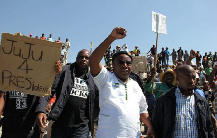 Julius Malema appears to be exploiting the perceived