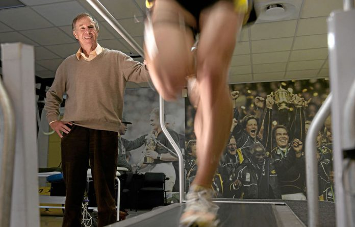 Professor Tim Noakes at the Sports Science Institute in Newlands
