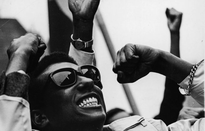 American civil rights leader Stokely Carmichael