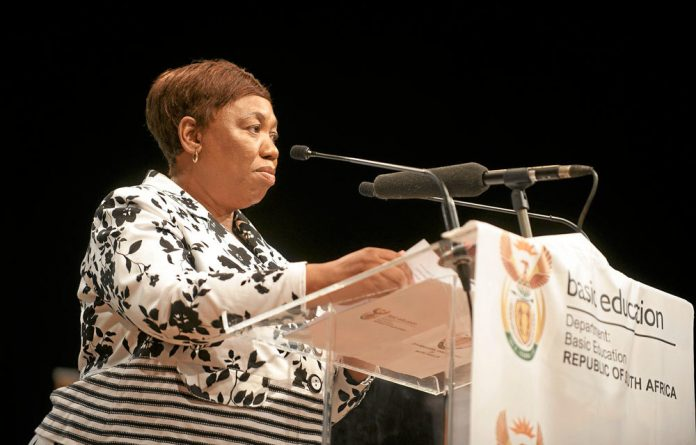 Angie Motshekga provided no understanding of the facts around the cheating in the matric exams of 2014.