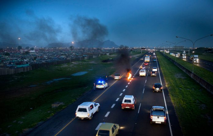 Protests have plagued Cape Town for years