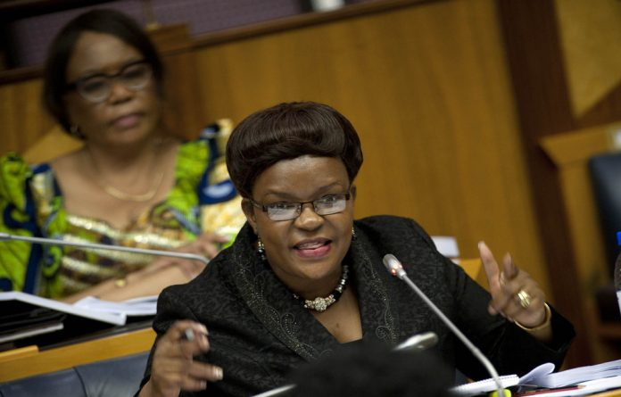 ANC deputy chief whip Doris Dlakuda accused the opposition of acting in bad faith after they walked out of the Nkandla committee.