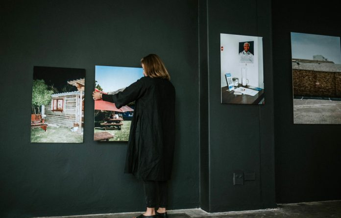 Swiss role: Work from Denise Bertschi's exhibition Neutrality as an Agent is part of the programme celebrating Pro Helvetia's 20-year presence in South Africa.