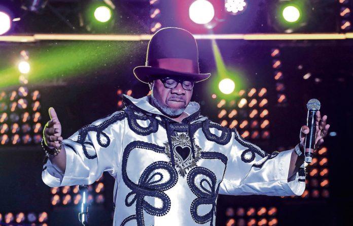 Flamboyant: World star Papa Wemba dies at 66.  Photo: AFP/Getty Images