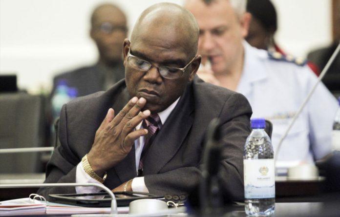Former crime intelligence boss Richard Mdluli