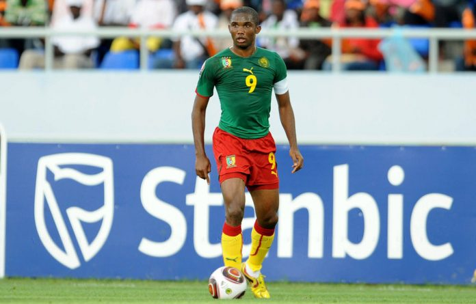 Cameroon's Samuel Eto'o.