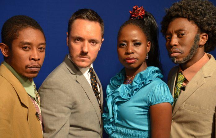 The cast of Zambezi News