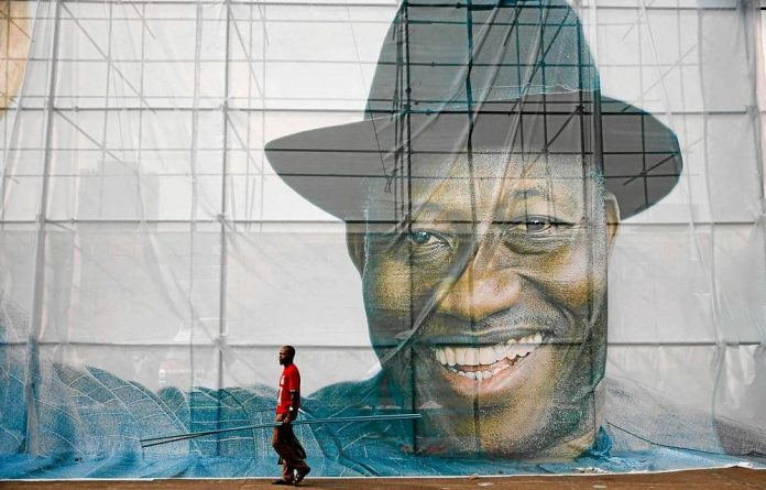 Nigerian President Goodluck Jonathan's popularity has waned as a result of corruption scandals