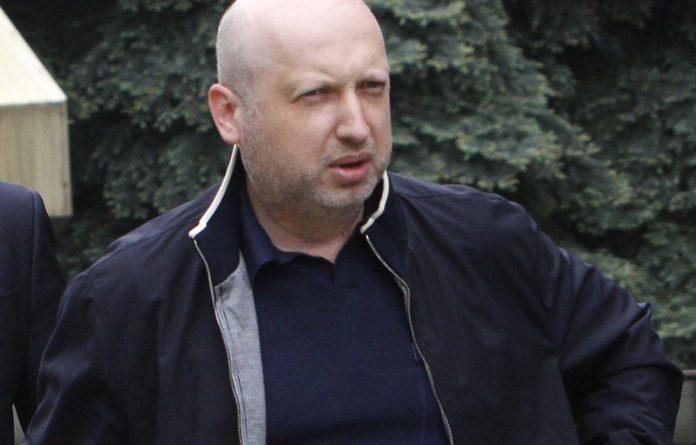 Acting President Oleksander Turchinov.