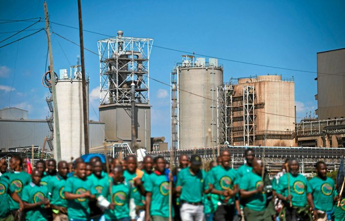 Amcu is seeking to overturn an interim order blocking their planned strike in the gold sector.