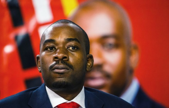 MDC leader Nelson Chamisa narrowly lost to President Emmerson Mnangagwa in the country's first election since the ousting of long-time ruler Robert Mugabe last year.