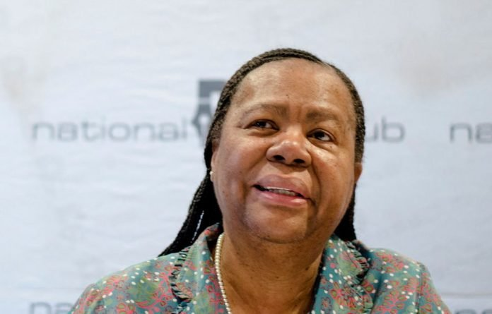Science Minister Naledi Pandor wants an organisation with a 'strong advisory role to the minister and Cabinet'.
