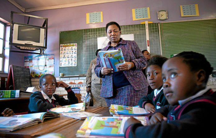 Bring to book: Basic Education Minister Angie Motshekga.