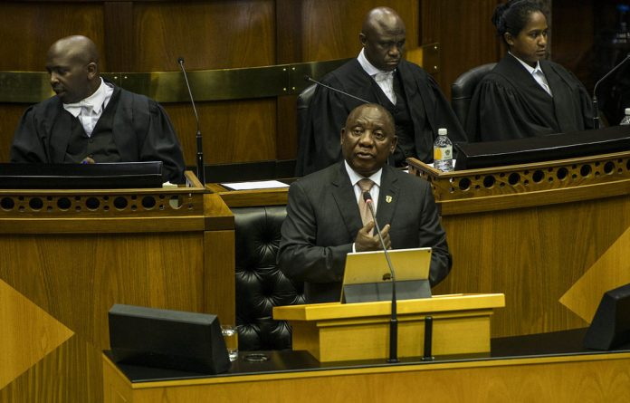 Ramaphosa was speaking during his final question and answer session for the fifth Parliamentary term before elections.