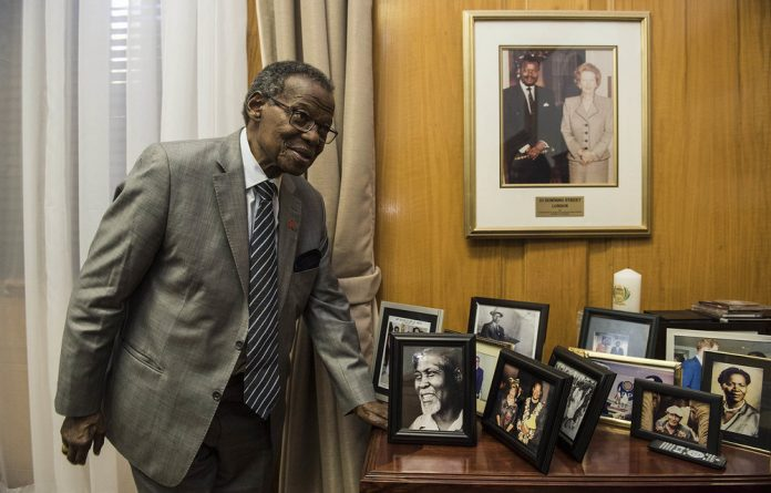 'Lover and fighter': Mangosuthu Buthelezi looks back on his political career with nostalgia.