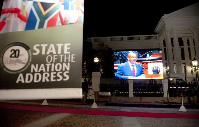 During the 2014 State of the Nation address