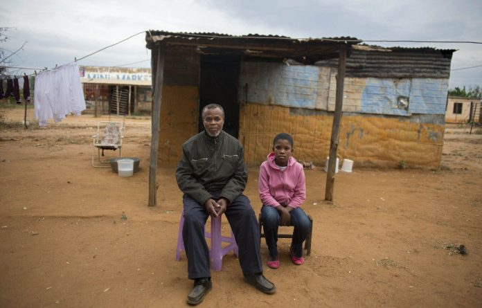 Makhwenkonke Ndawana does whatever he can 'to survive' with his three daughters.