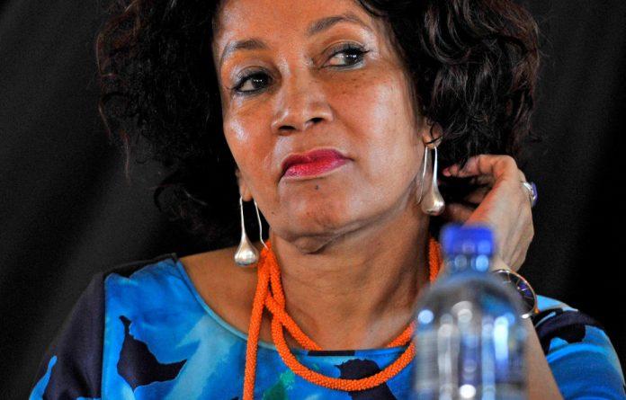Presidential hopeful Lindiwe Sisulu