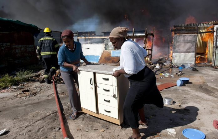 The people of areas such as Langa on the Cape Flats have not had the liberation that the end of apartheid was supposed