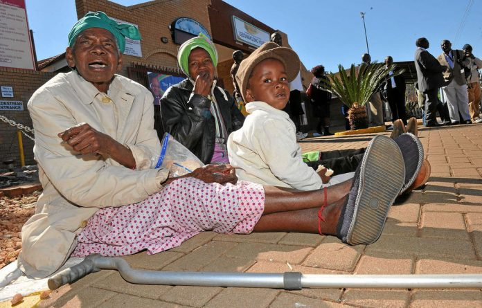 President Jacob Zuma visited Lebowakgomo Hospital in July last year to assess its state of health