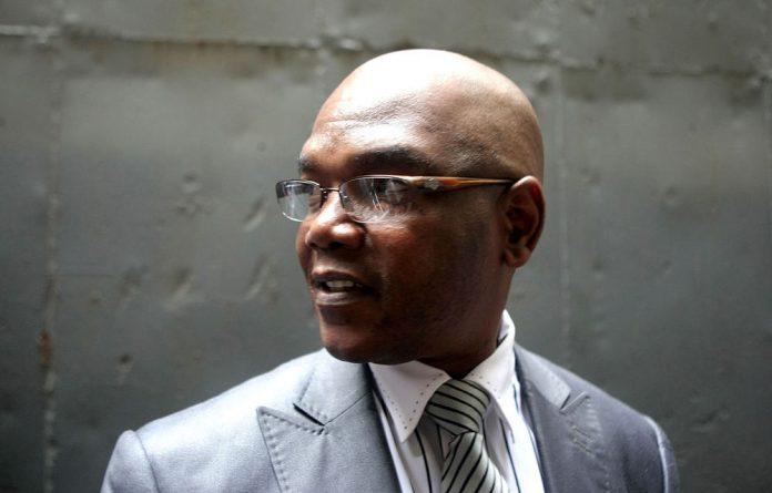 Suspended crime intelligence boss Richard Mdluli.