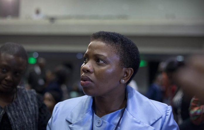 Nomgcobo Jiba is the Deputy National Director of Public Prosecutions.