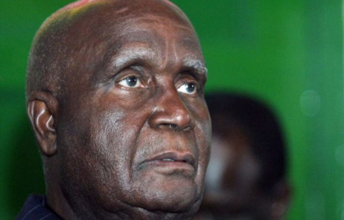 Zambia's founding father and former president Kenneth Kaunda was taken to hospital on Sunday.