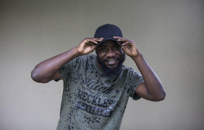 Zambian musician Fumba Chama