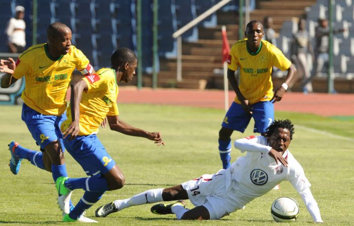 Lerato Chabangu powered Moroka Swallows to another win over his former team Mamelodi Sundowns on Sunday.