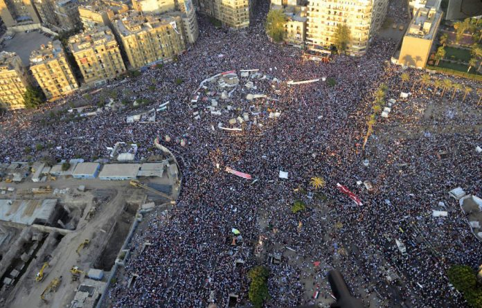 Egypts new draft constitution is expected to usher in a new change of politics.