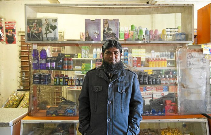 From India to Klerksdorp: When he was young Rafik Patel had a fantasy of flying but instead has landed up running a spaza shop in Kanana.