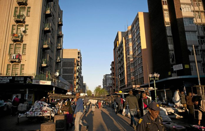9.5% of Gauteng's population of 12.8-million were born outside South Africa.