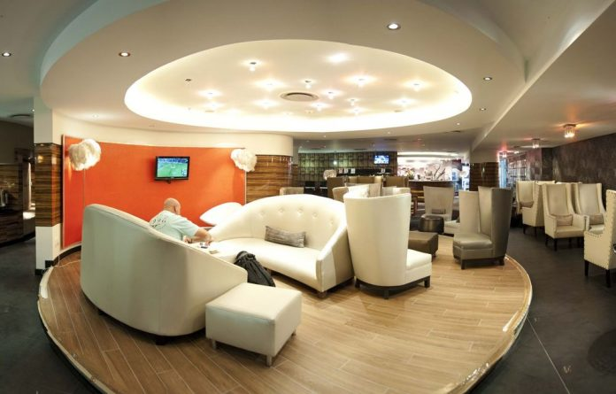 Enter the departure lounge: R250 will grant you access to the award-winning Shongololo lounge at OR Tambo International in Johannesburg.