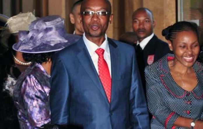 Johannesburg mayor Parks Tau and his wife