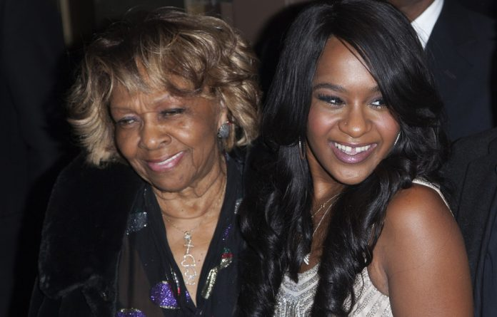 Cissy Houston and Bobbi Kristina Brown attend the opening night of