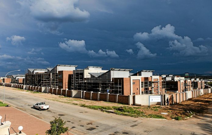The R300-million building in Polokwane that has caused an uproar.