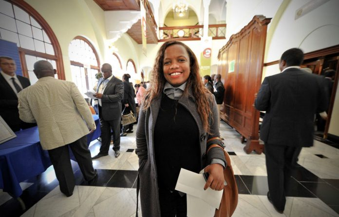 Democratic Alliance MP Phumzile van Damme.