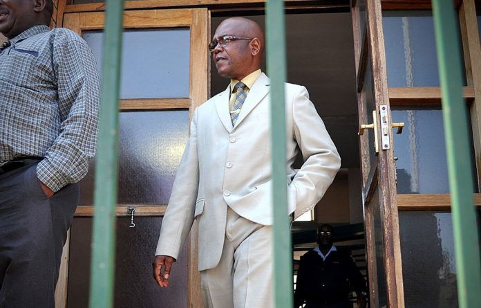 Former crime intelligence boss Richard Mdluli.