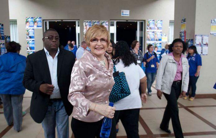 DA leader Helen Zille.