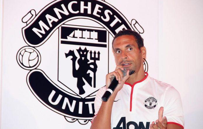 Manchester United defender Rio Ferdinand.