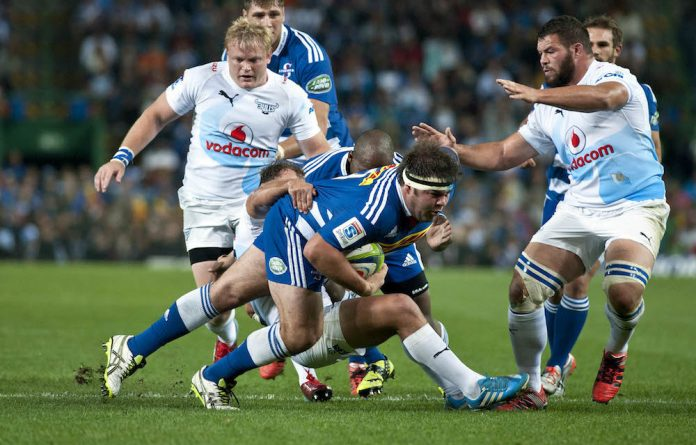 Brute force: The Bulls found Stormers prop Frans Malherbe hard to contain last week as he ruled the scrums and won a series of penalties.