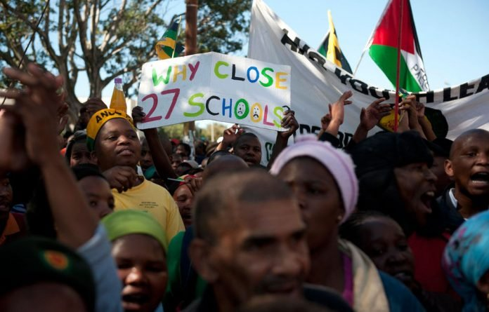 Eighteen schools have filed an application to court to interdict the Western Cape education department from closing their schools.