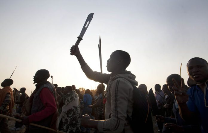 What are your thoughts on the Lonmin incident?