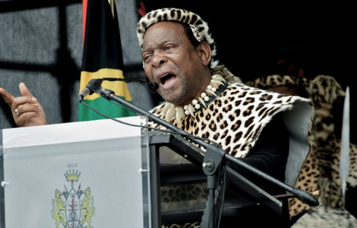 King Goodwill Zwelithini.