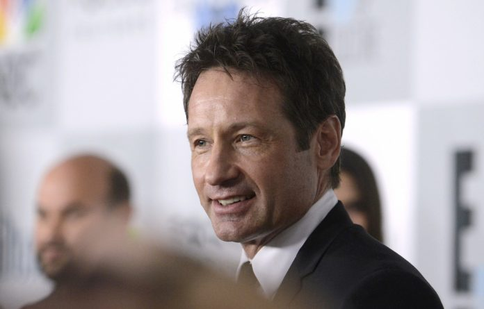 Actor David Duchovny at NBC Universal's after party at the 72nd Golden Globe Awards.