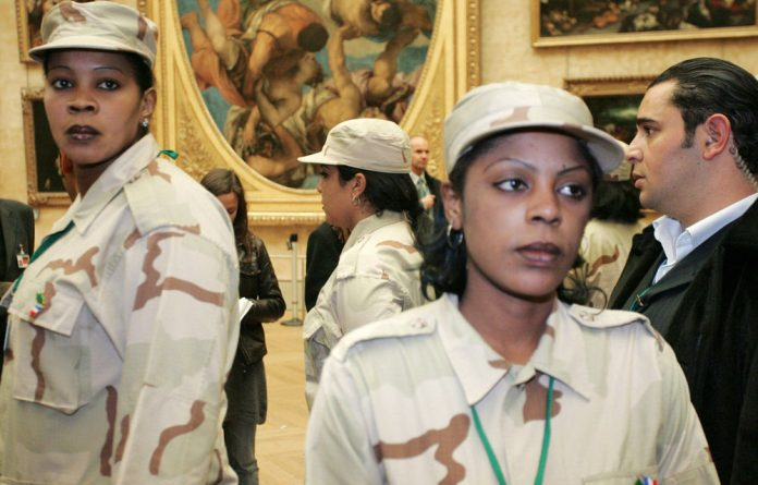 Muammar Gaddafi's female bodyguards