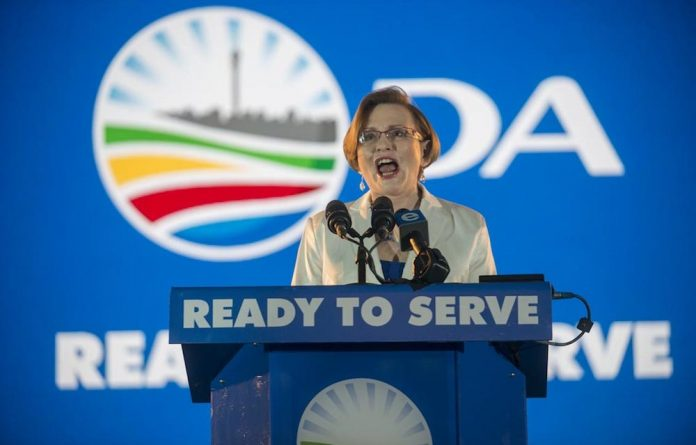 The DA sent an SMS to millions of South Africans during its 2014 election campaign